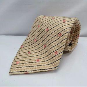 CHANEL CC Logo Men's Tie: Authentic